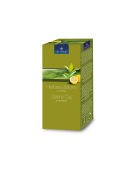 Sir Henry Zelený čaj s citrónom