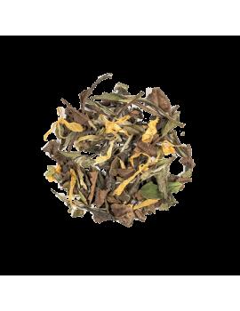 Biely čaj s bazovým kvetom (White Tea Eldeflower)